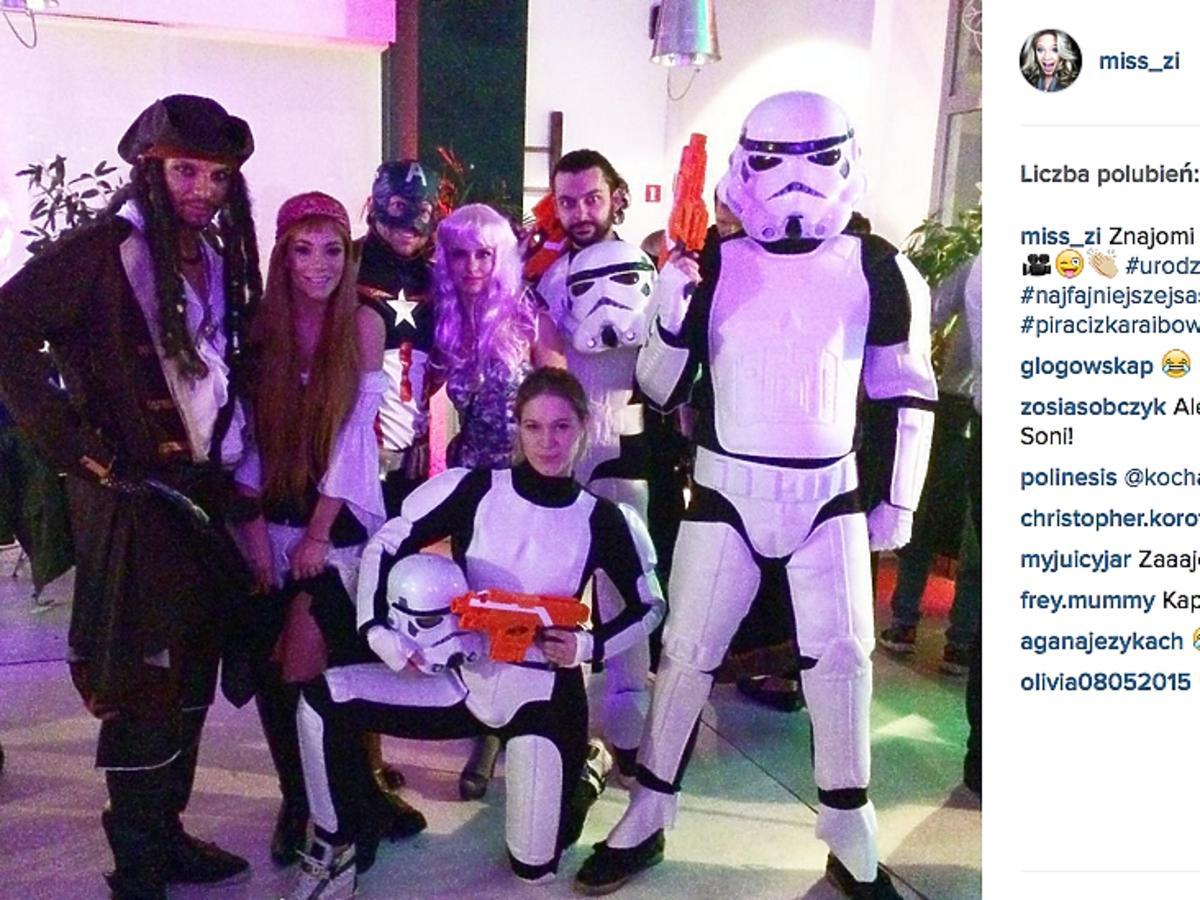 Zosia Ślotała w stroju Stars Wars