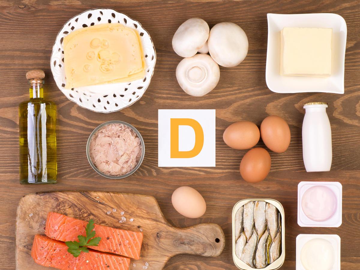 Źródła witaminy D i D3