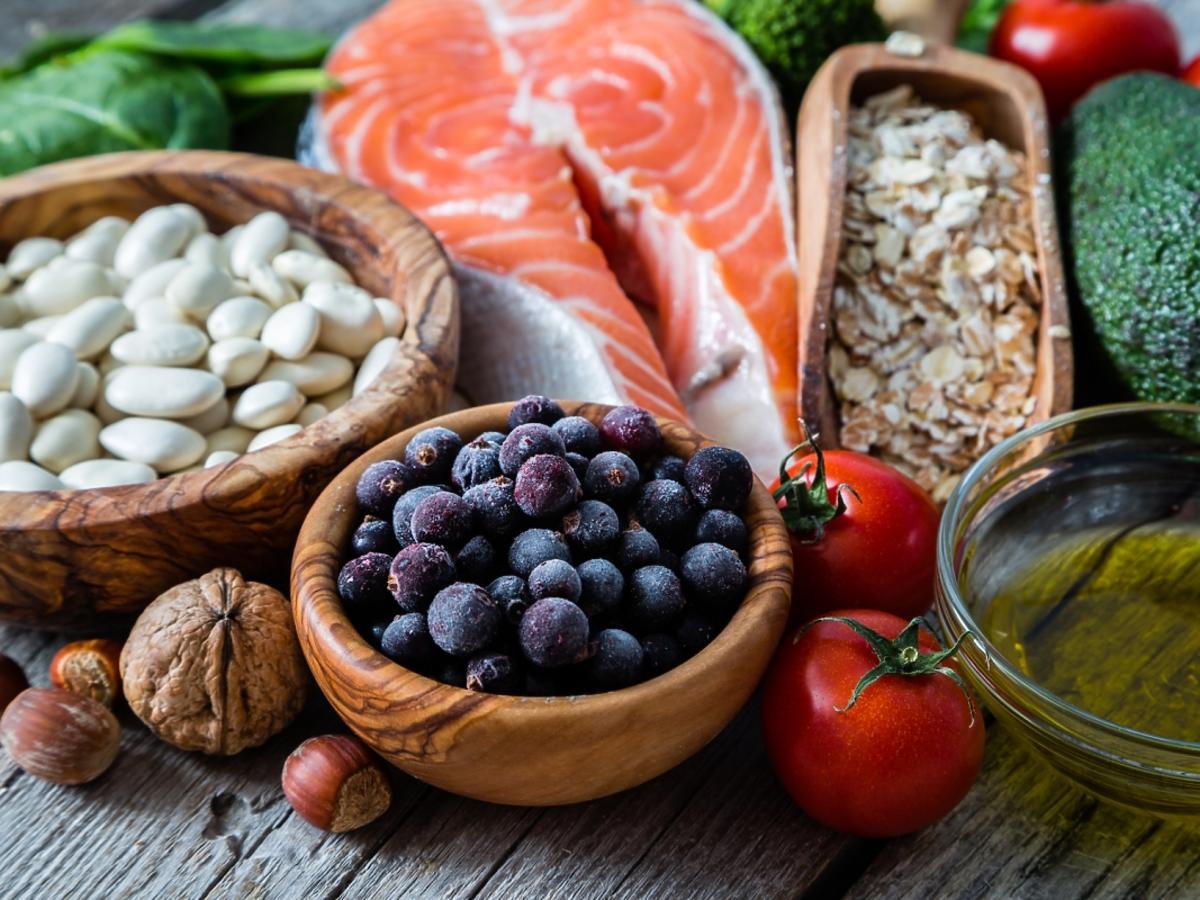 Zróżnicowane produkty spożywcze