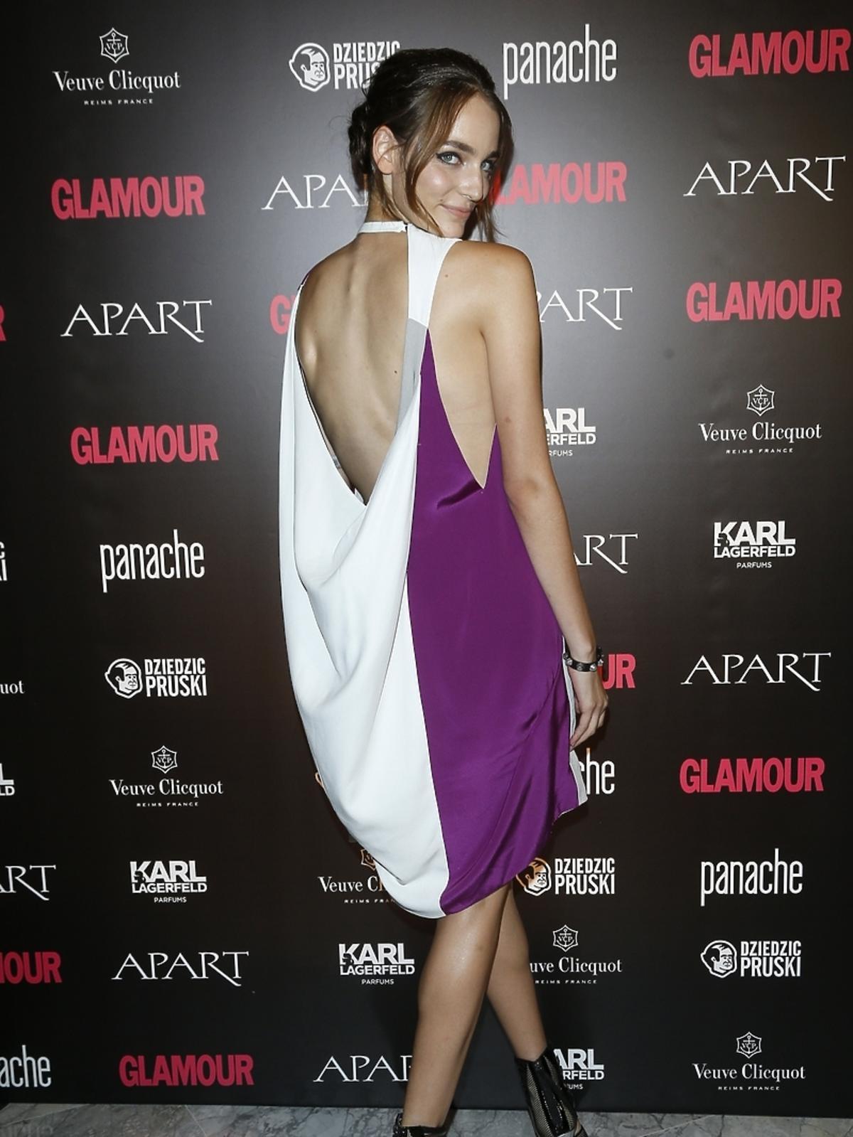 Zuza Bijoch na Kobieta Roku Glamour 2014