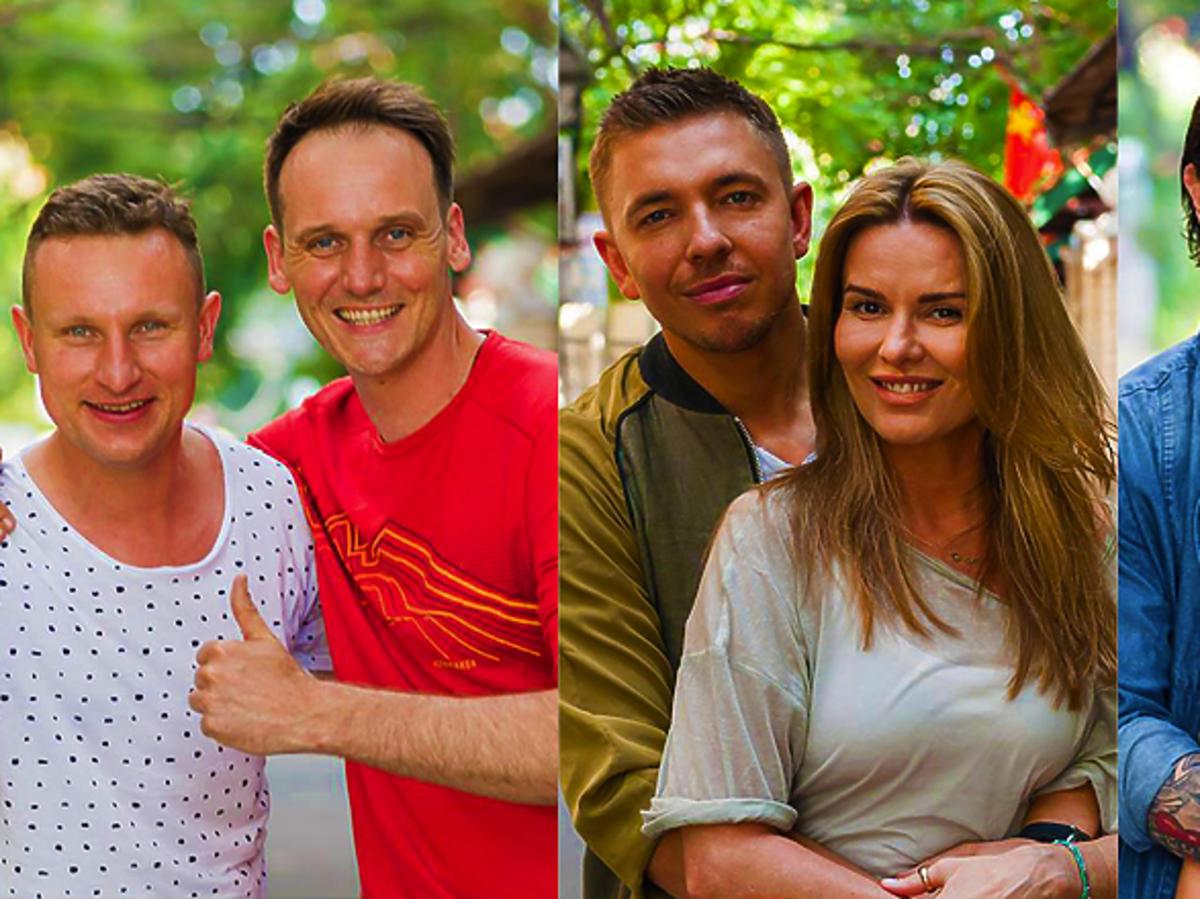 Azja Express, Michał Żurawski, Pascal Brodnicki, Hanna Lis, Małgorzata Rozenek, Łukasz Jemioł, Radosław Majdan