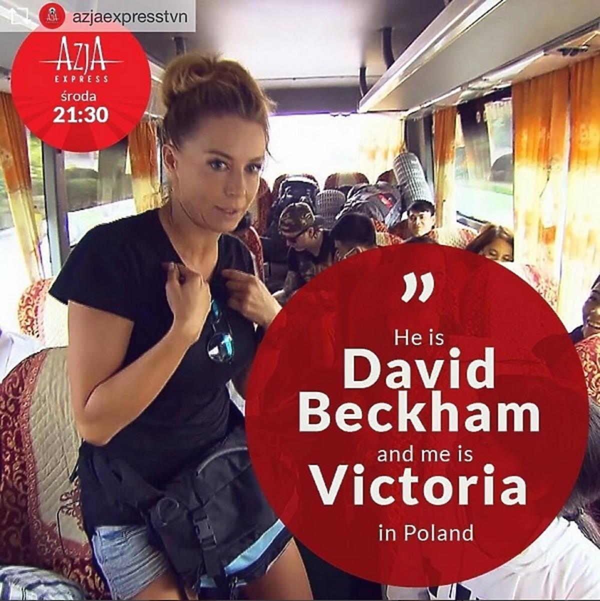 Małgorzata Rozenek w Azja Express