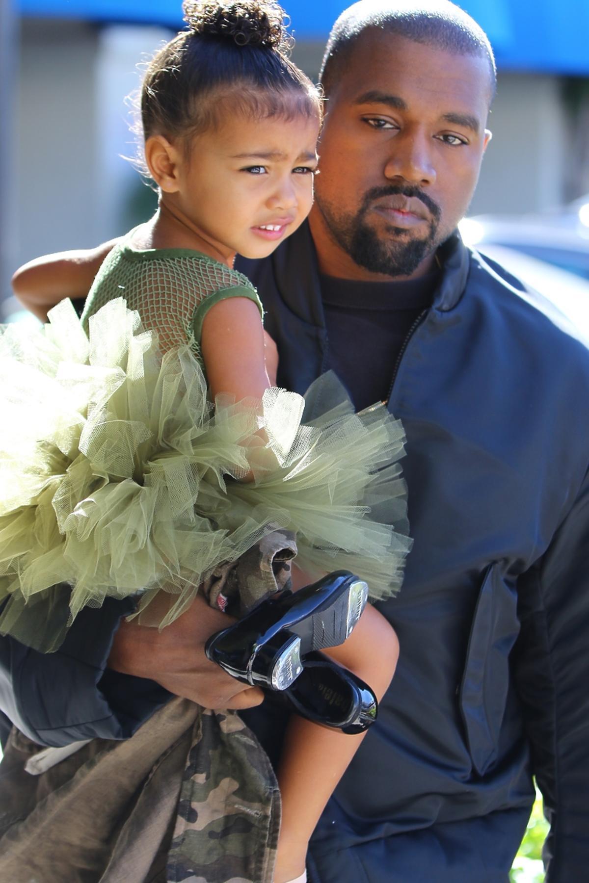 North West z ojcem Kanye Westem