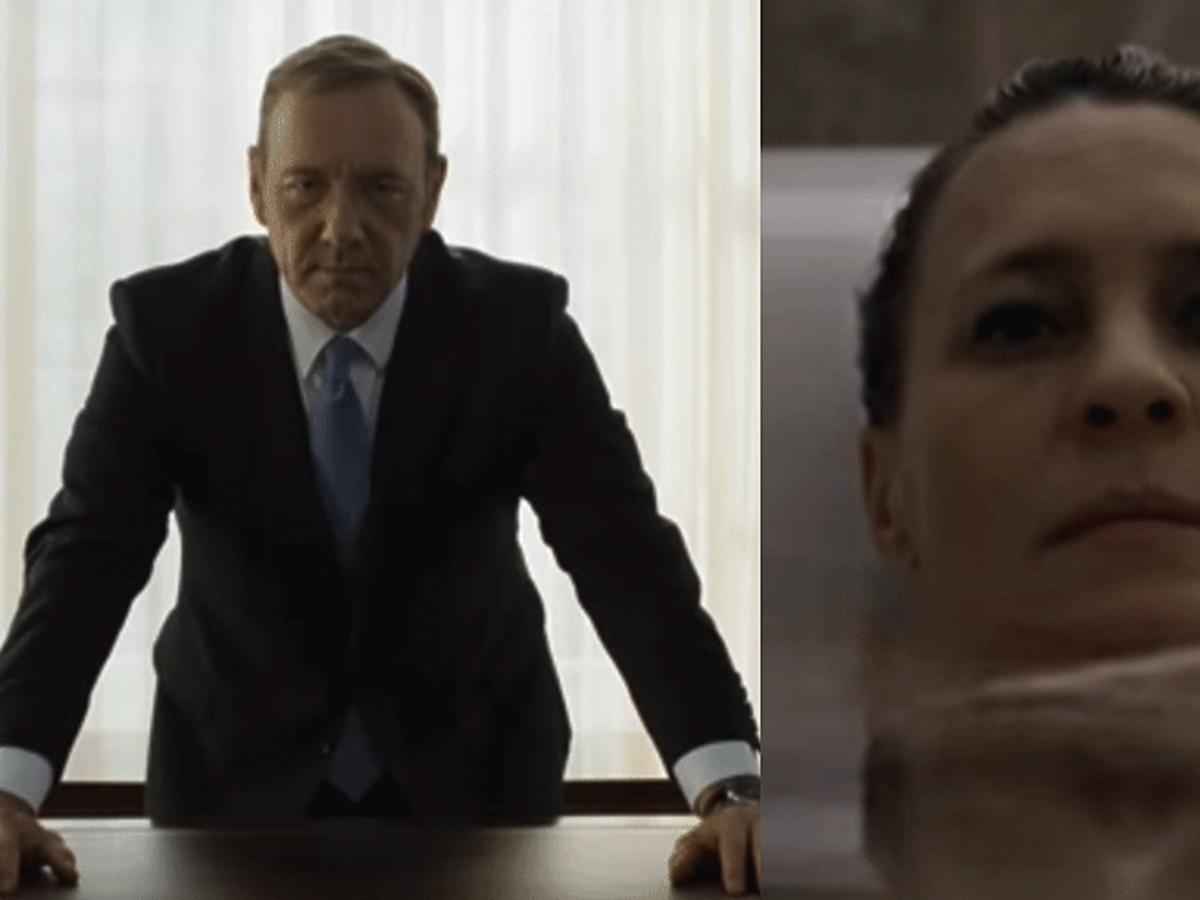 House Of Cards - Kevin Spacey, Robin Wright w nowym zwiastunie