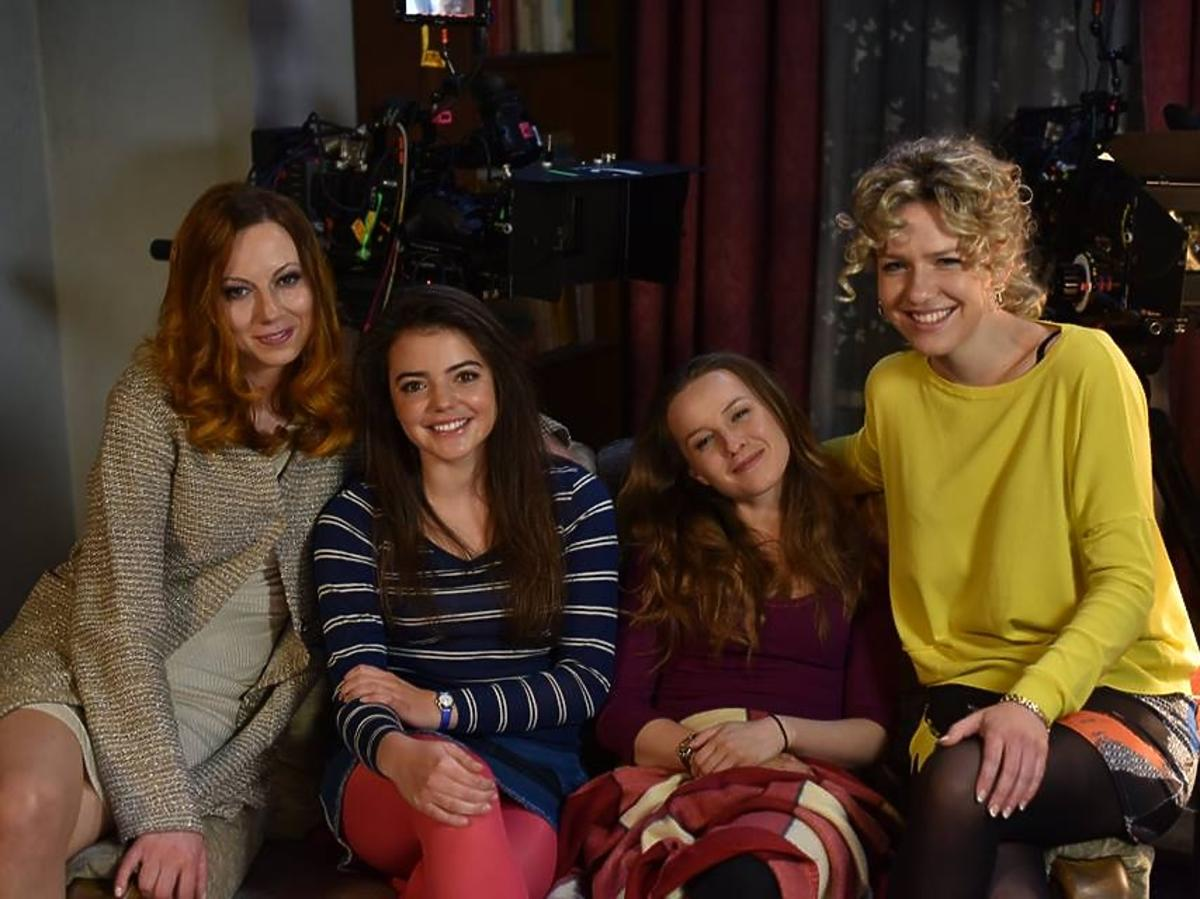 Kadr z serialu Dziewczyny ze Lwowa