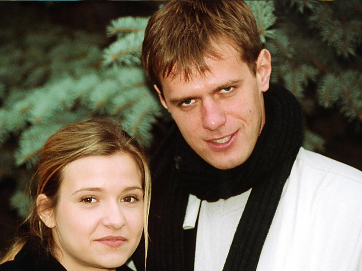 Paweł Okraska z Joanną Koroniewską