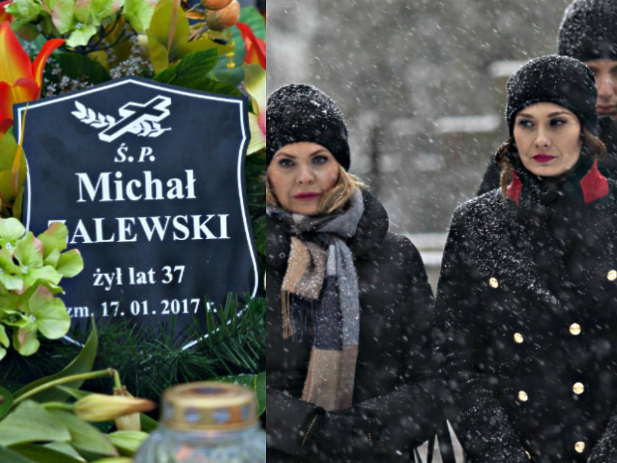 """Pogrzeb Michała w serialu """"Przyjaciółki"""""""