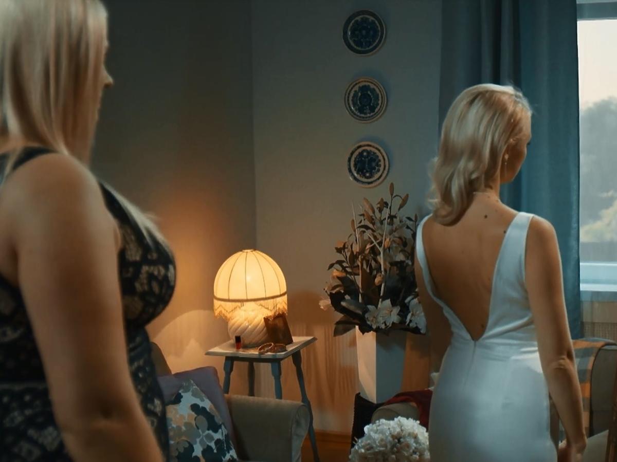 W rytmie serca - Maria w sukni ślubnej