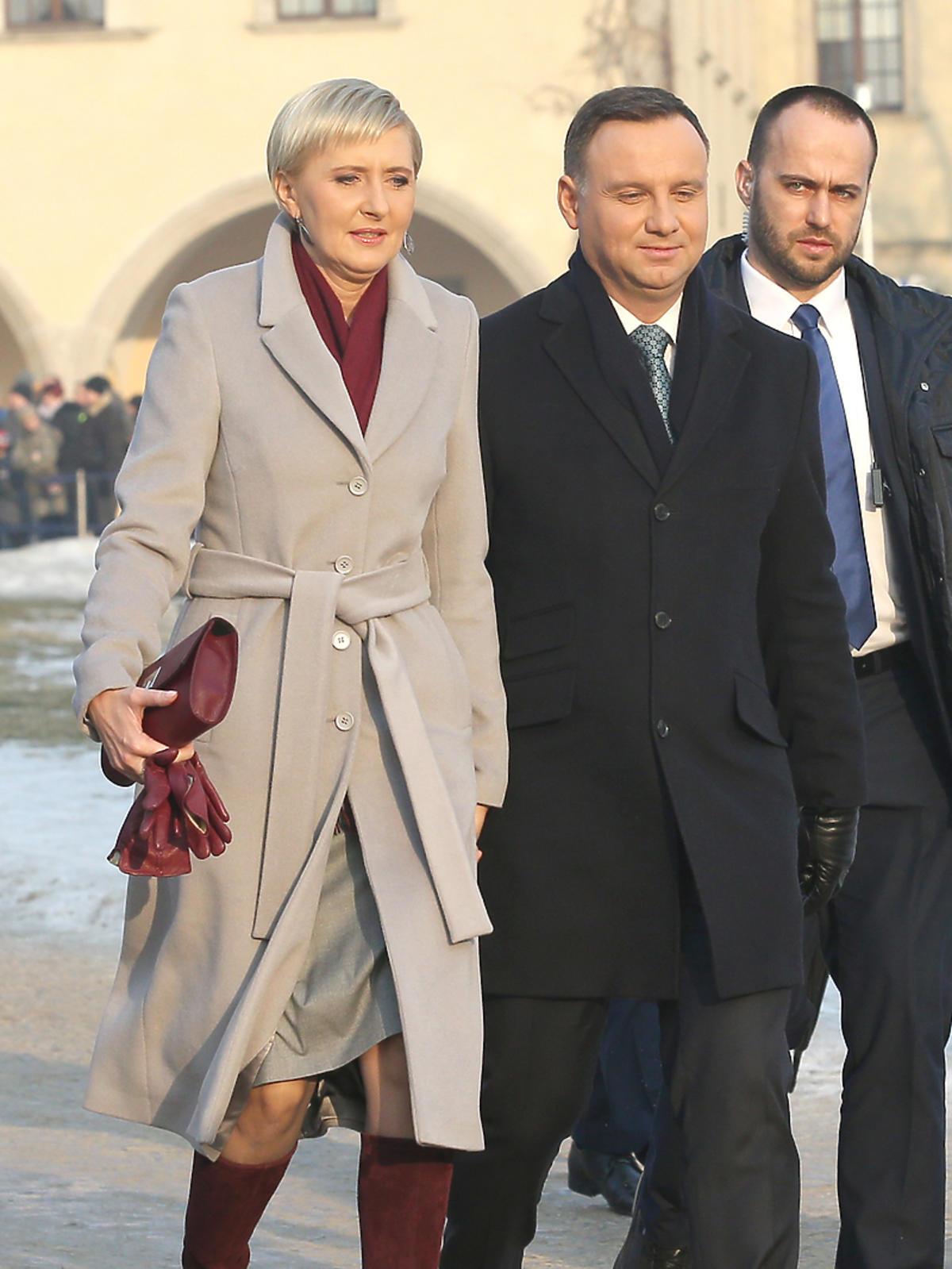 Agata Duda z torebką Gino Rossi