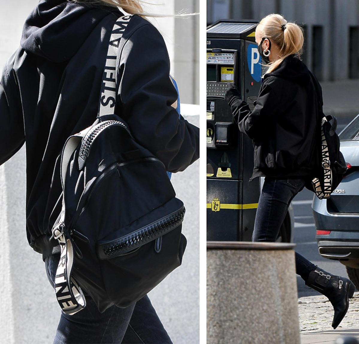 Agnieszka Woźniak-Starak z plecakiem Stelli McCartney za prawie 4 tysiące złotych