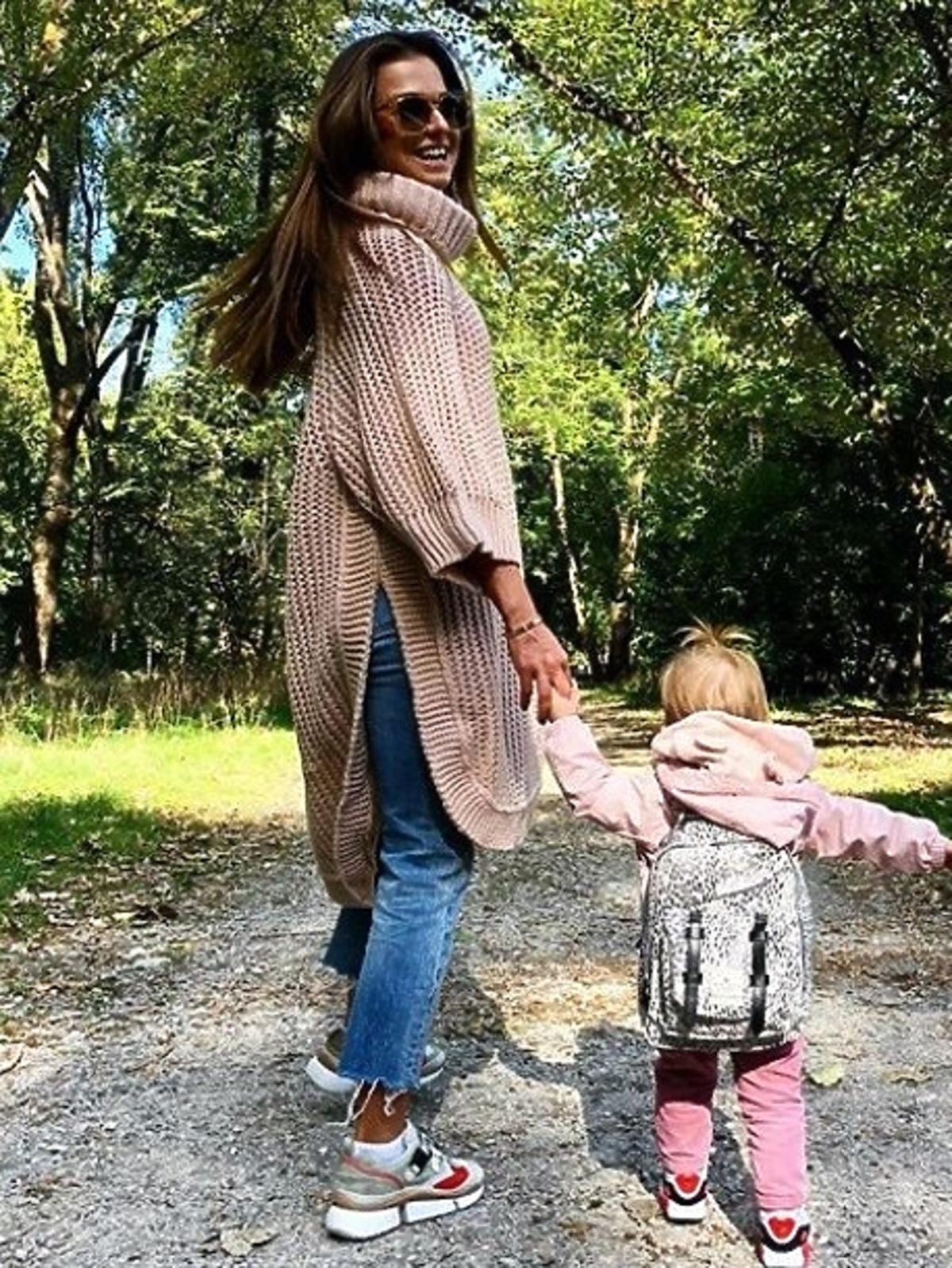 Ania Lewandowska kupiła sweter za 2 tysiące złotych!