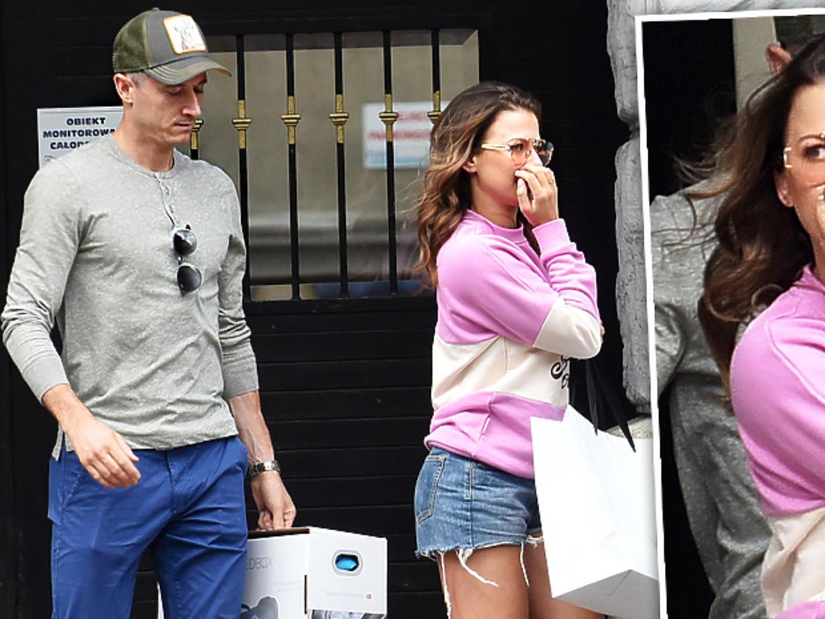 Anna Lewandowska i Robert Lewandowski kupują łóżeczko dla Klary