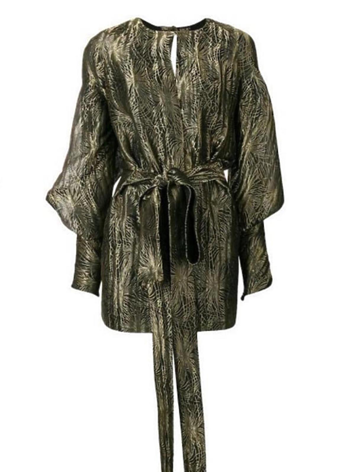 Anna Lewandowska w sukience YSL