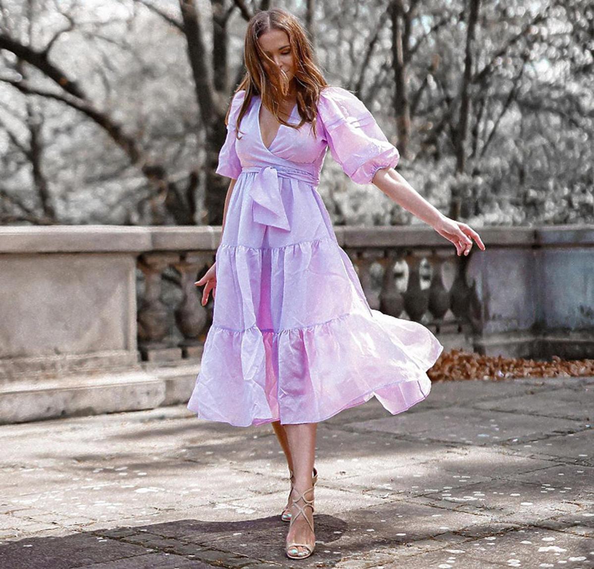 Anna Wendzikowska w sukience Reserved