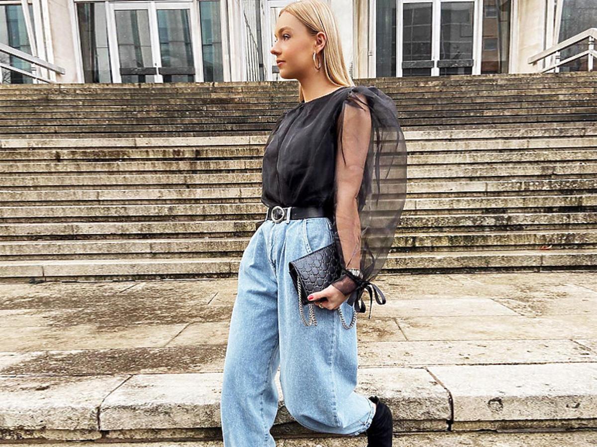 Balloon jeans wracają do mody! To najmocniejszy trend na wiosnę 2020