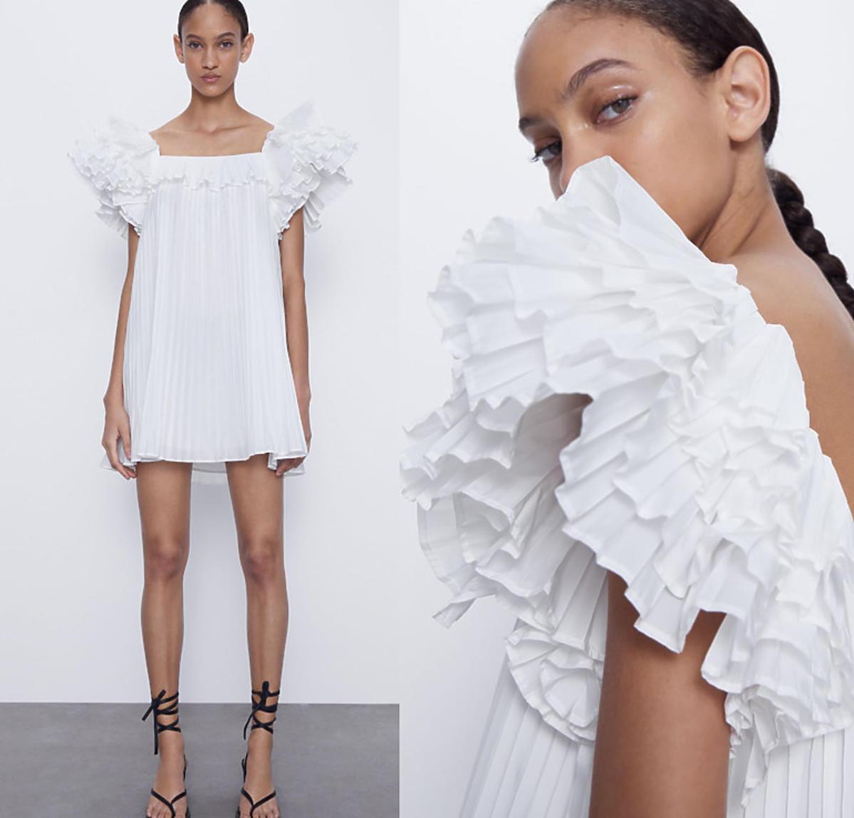 Biała suknia, Zara, 199 zł