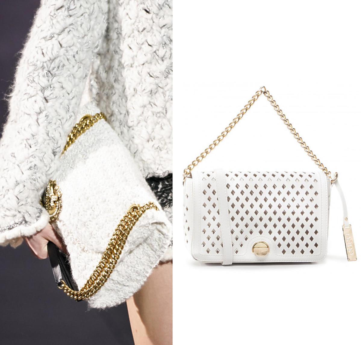 Biała torebka Dolce &Gabbana i torebka NOBO