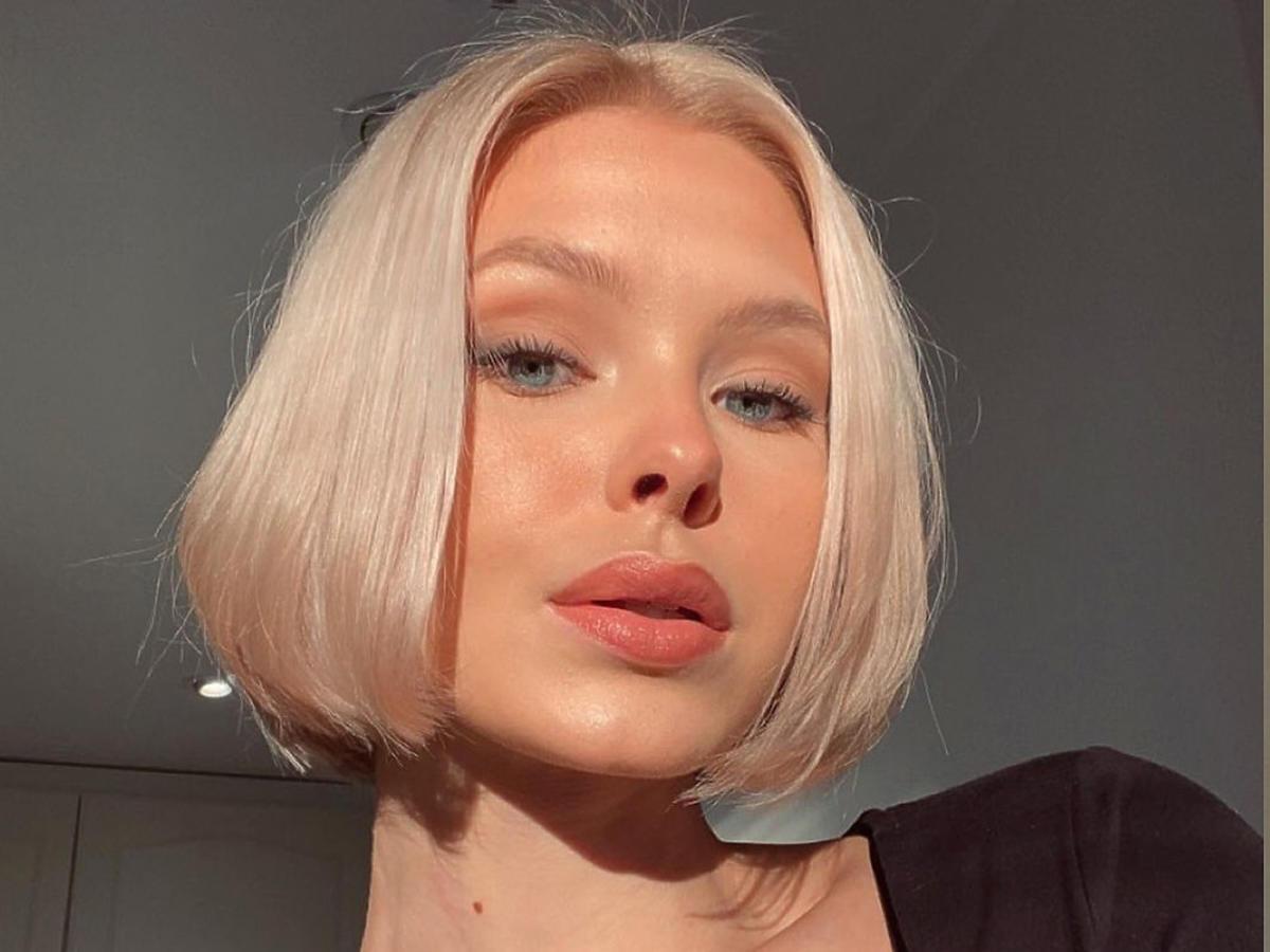 Blond boyfriend bob