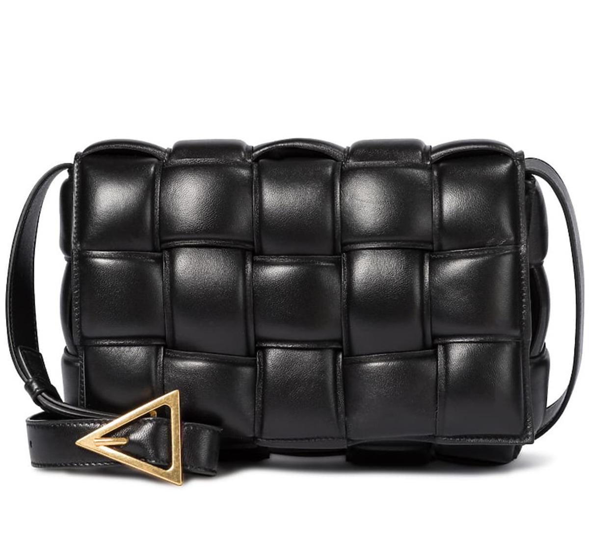 Czarna torebka Bottega Veneta
