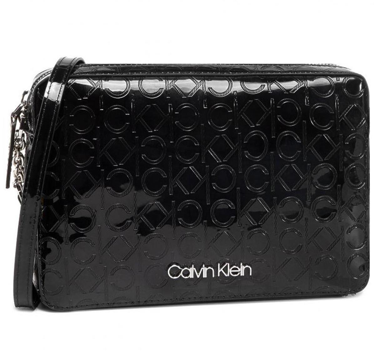 Czarna torebka kopertówka CALVIN KLEIN