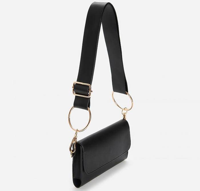 Czarna torebka z Reserved za 39,99 zł
