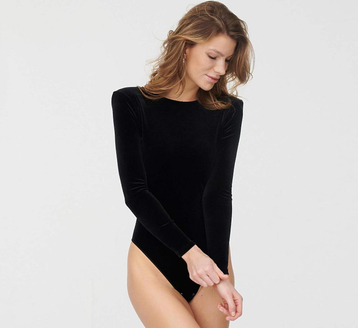 Czarne body Meneater, Undress Code - ten model ma Anna Lewandowska