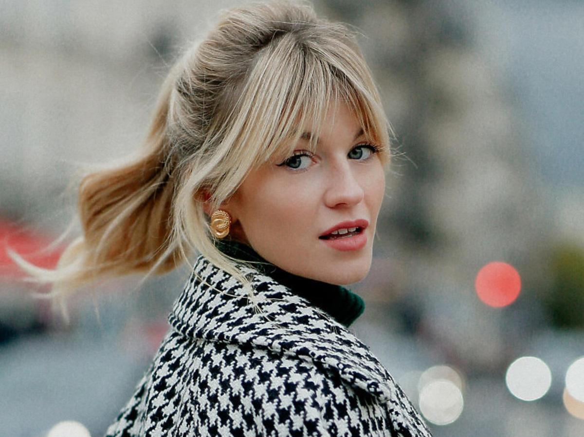 Fryzura shaggy hair w blond wersji