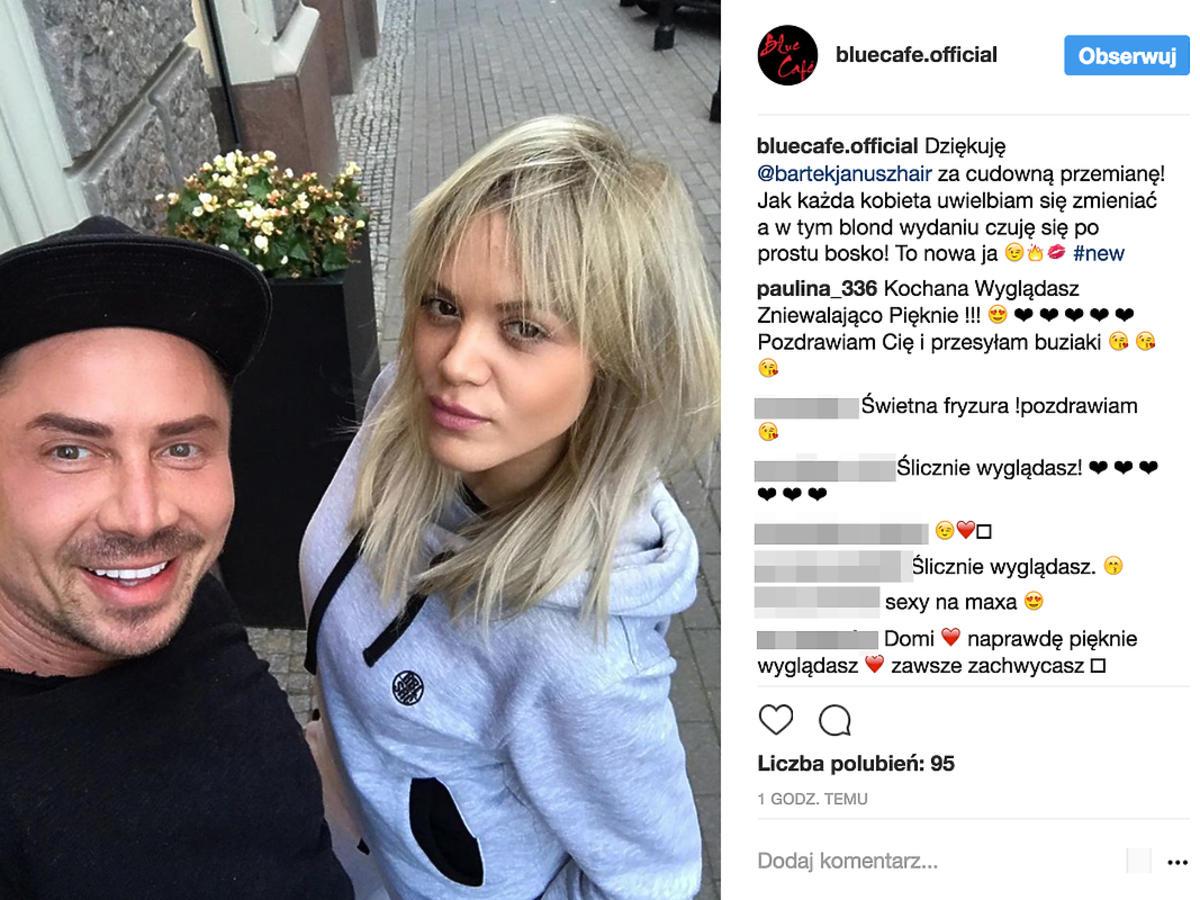 Dominika Gawęda zmieniła fryzurę