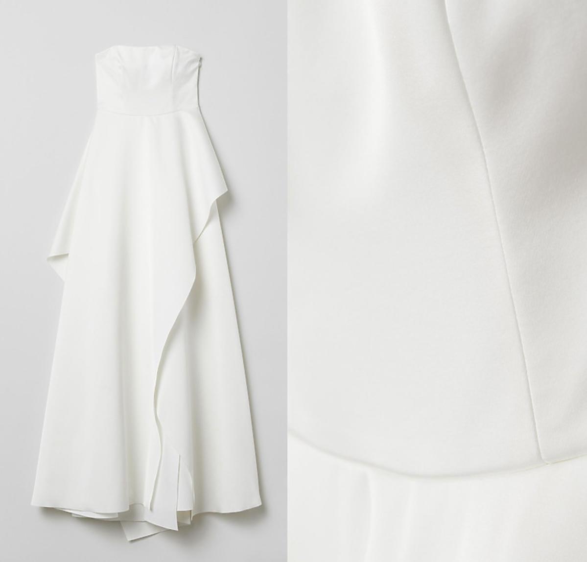 H&M, biała suknia ślubna, 699 zł