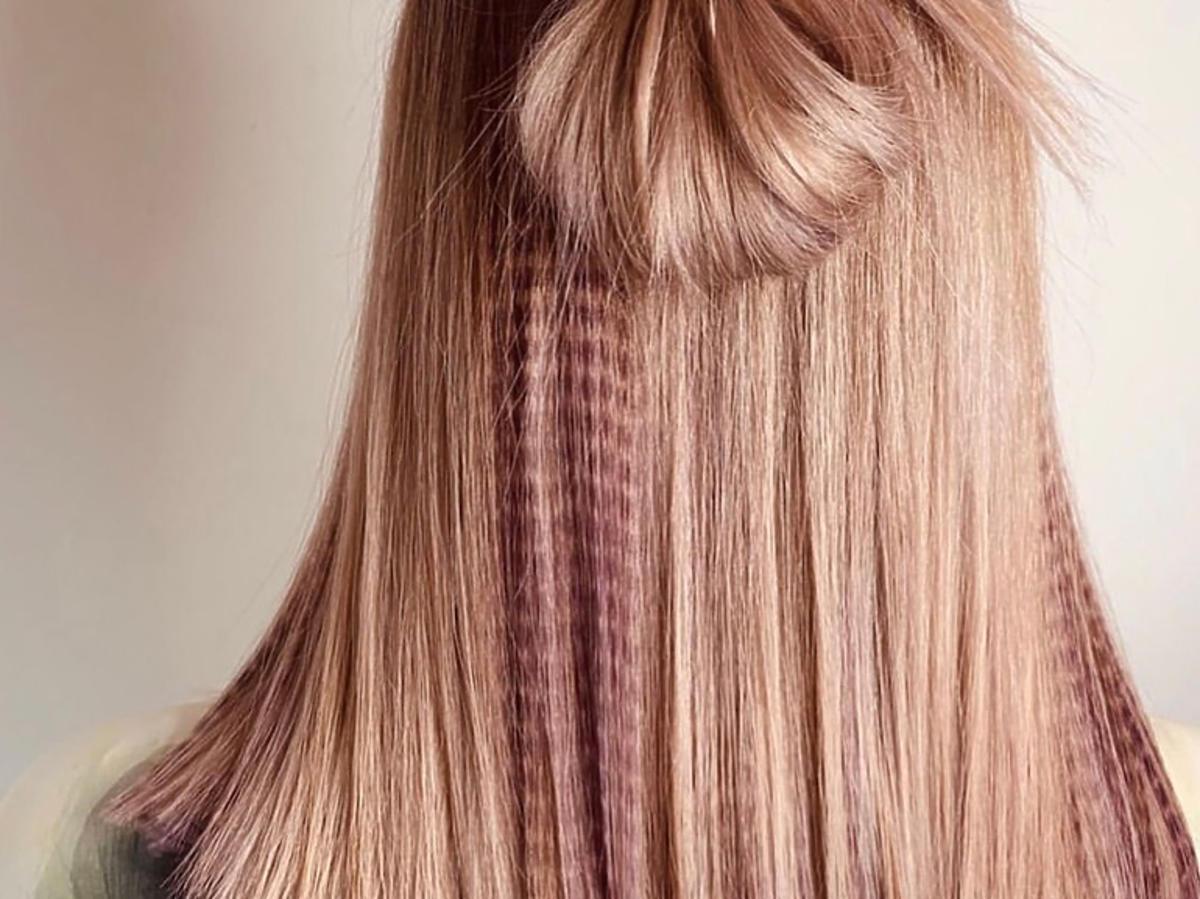 Imprinting hair - nowy fryzurowy trend na wiosnę 2020, który lansuje Kim Kardashian
