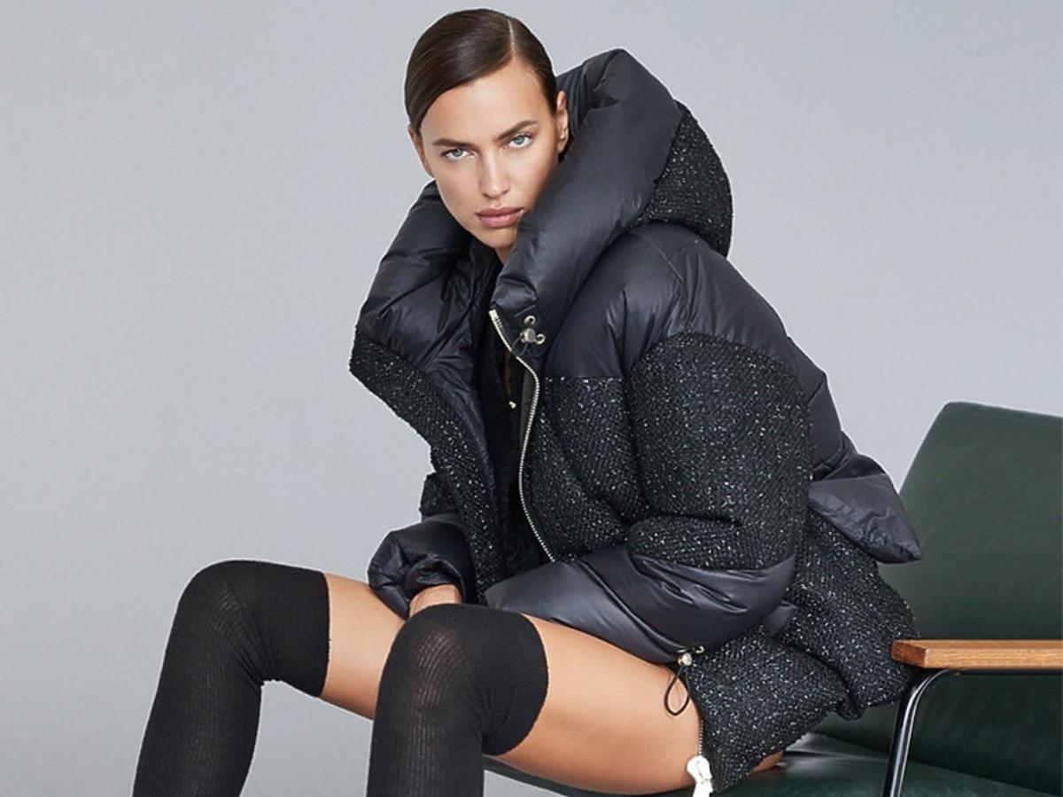 Irina Shayk w puchowej kurtce na zimę 2020/2021