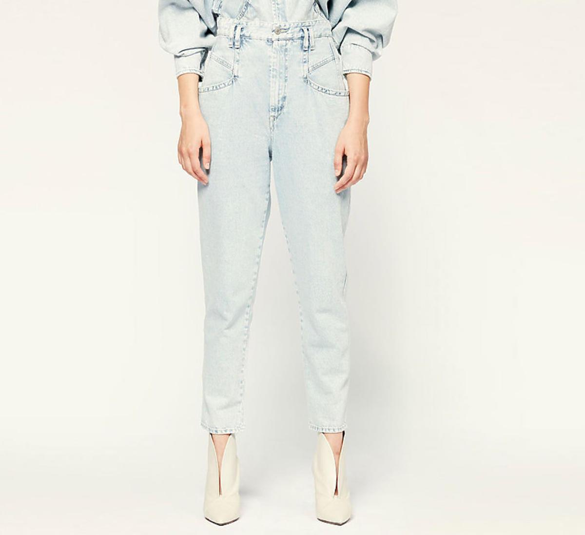 Jasnoniebieskie jeansy Padeloisasr, Isabel Marant
