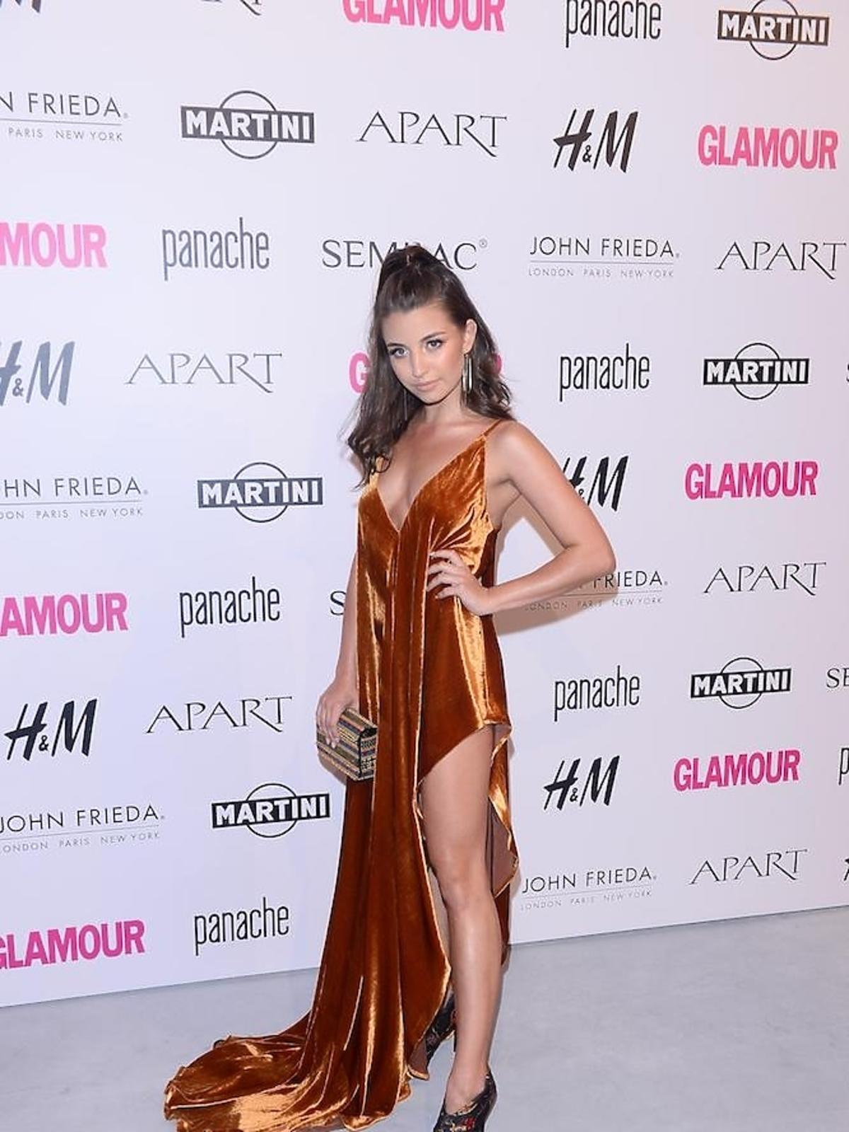 Julia Wieniawa na imprezie Glamour