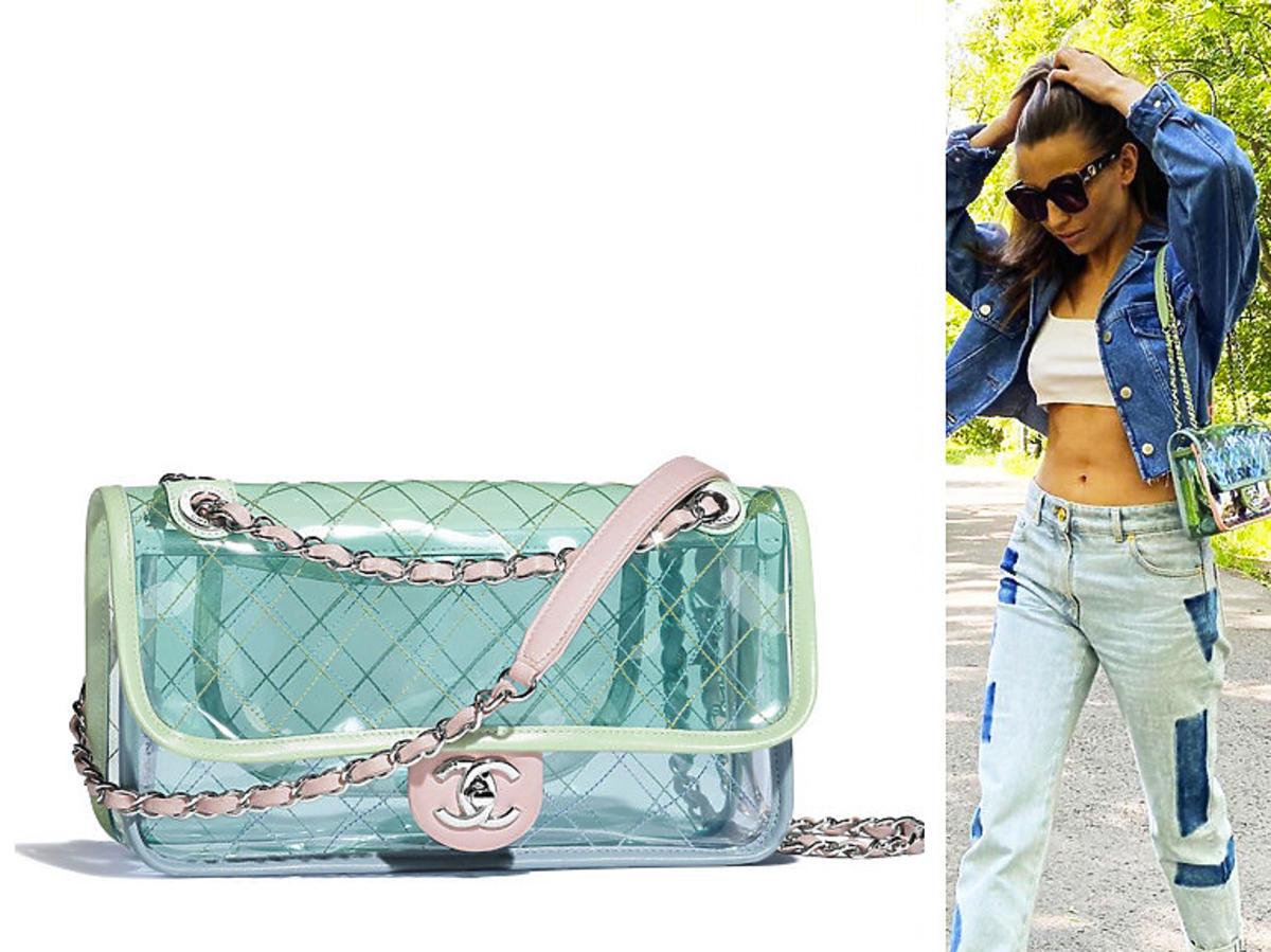 Julia Wieniawa z torebką Chanel - jest przezroczysta i kosztuje 11 tys. zł
