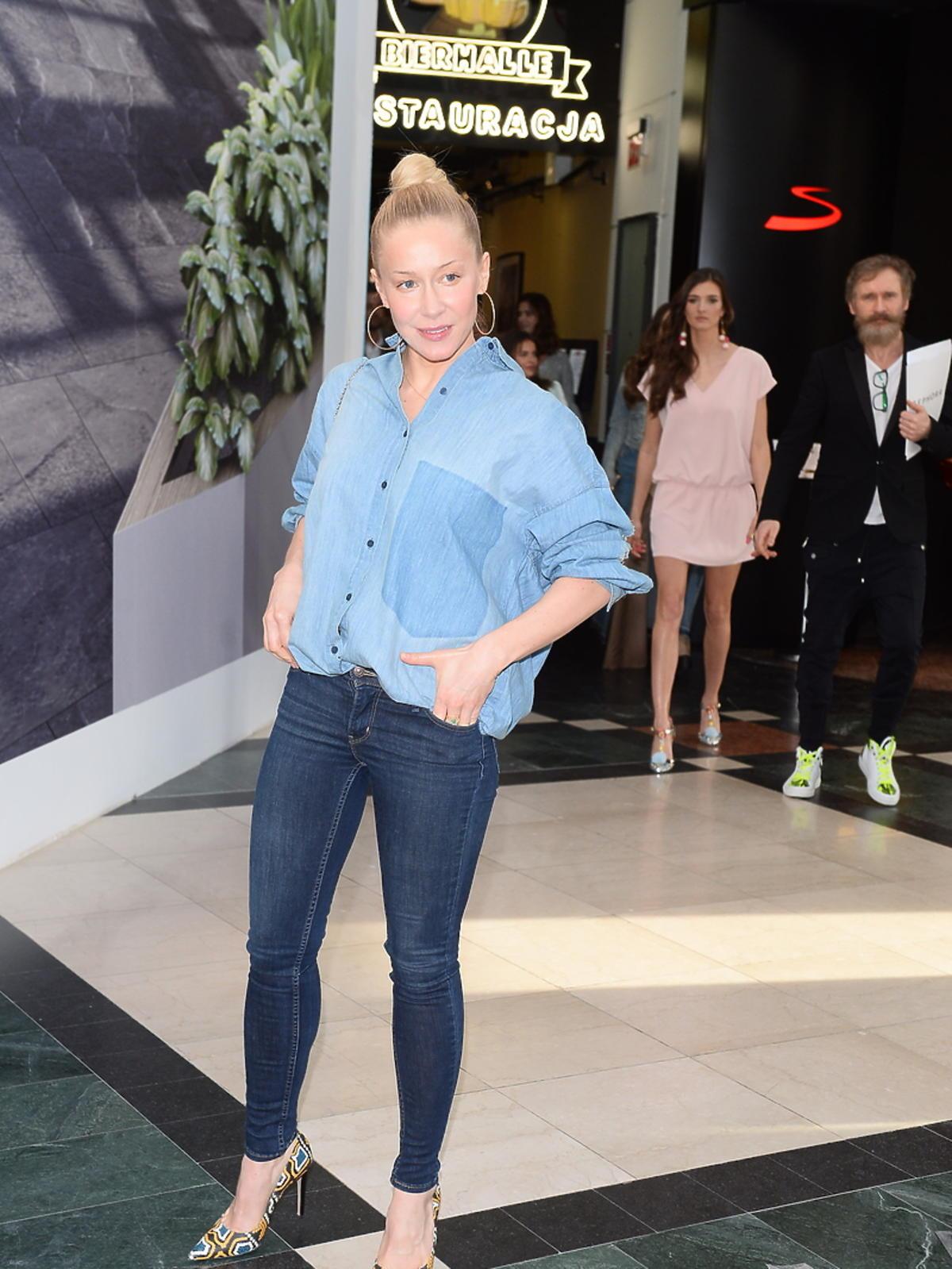 Kasia Warnke na evencie marki kosmetycznej