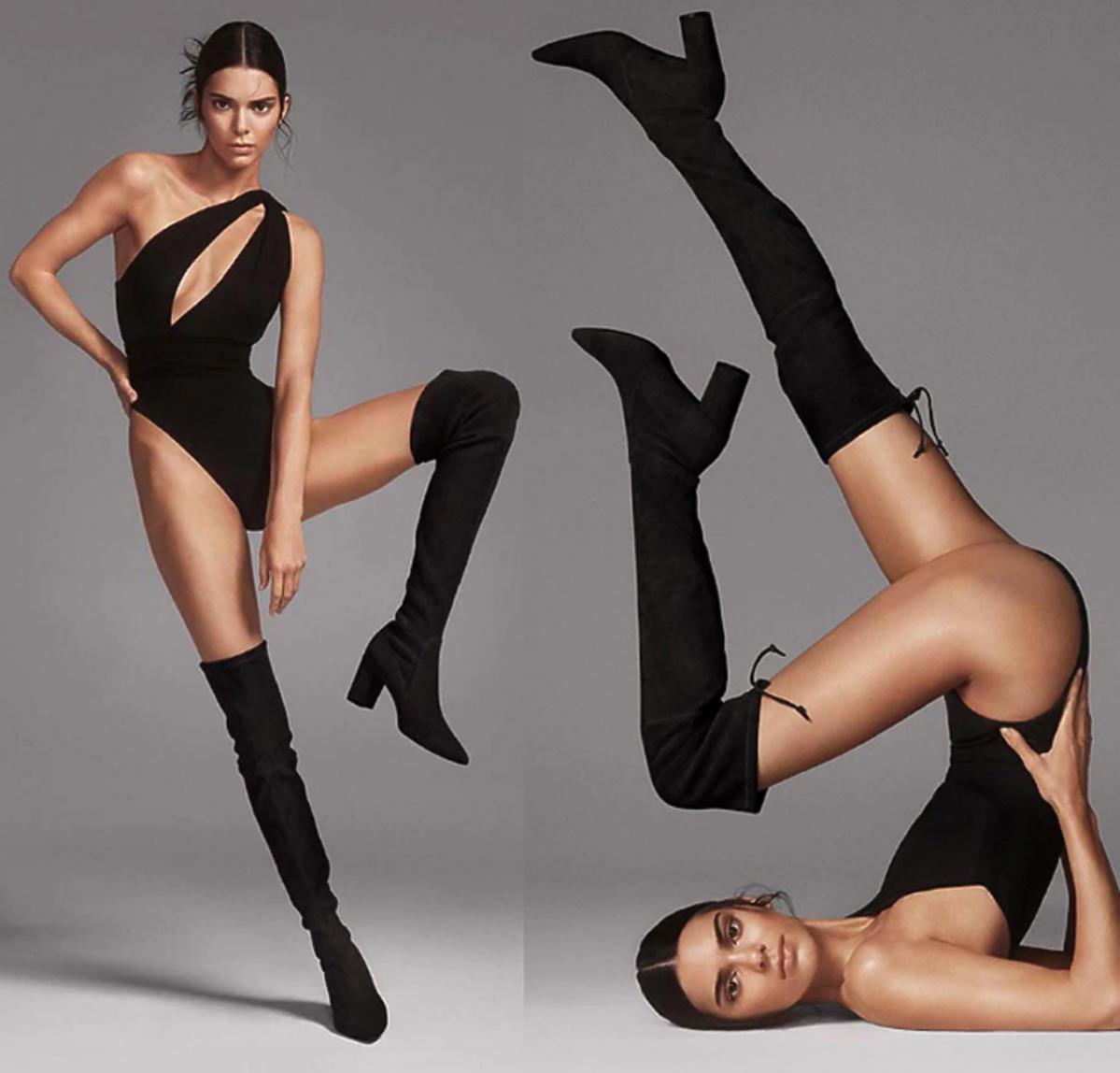 Kendall Jenner w kampanii Stuart Weitzman