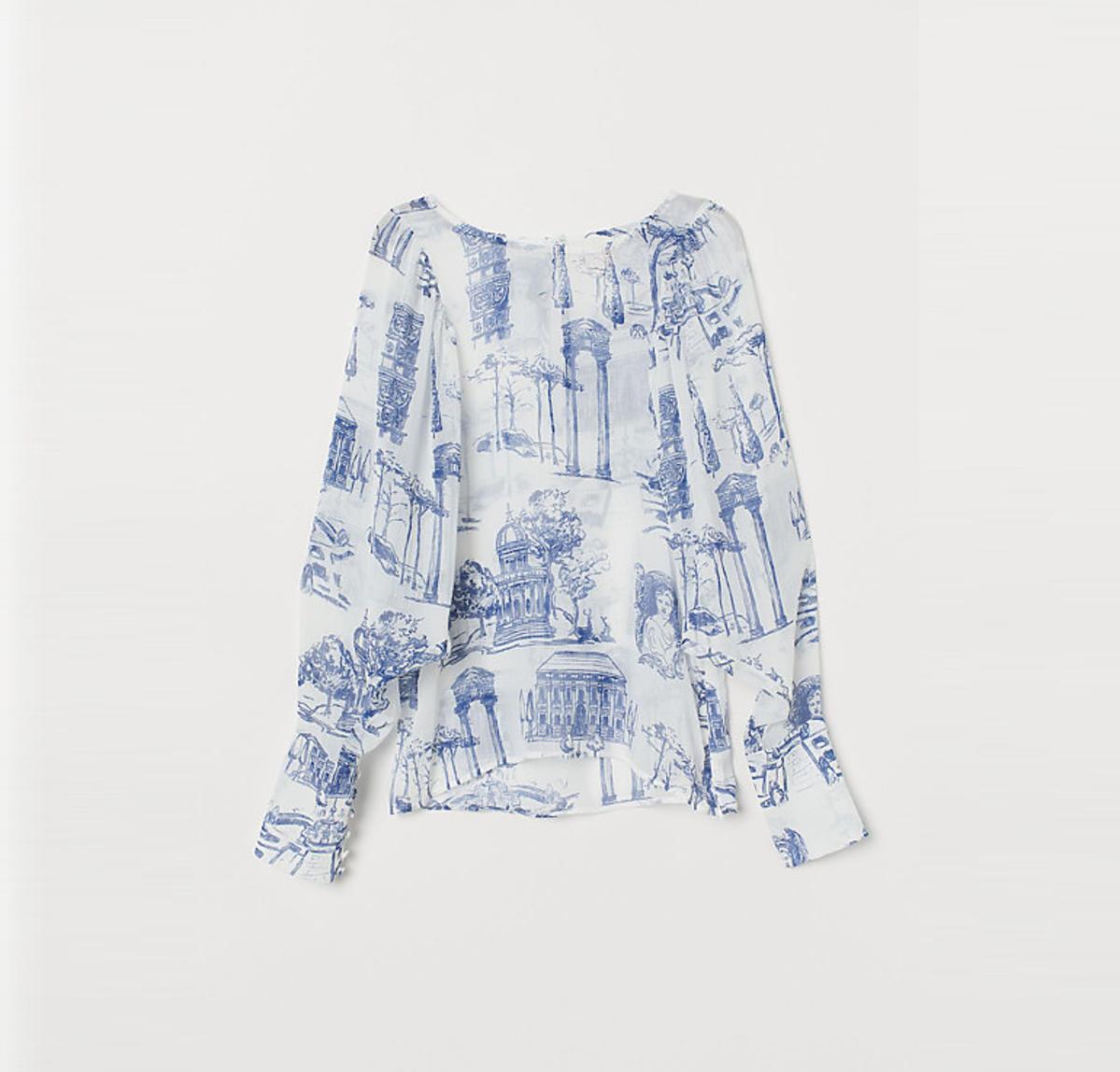 Kinga Rusin w bluzce z H&M