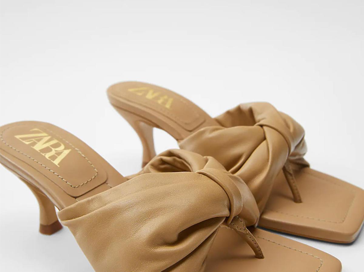Klapki Zara 2020