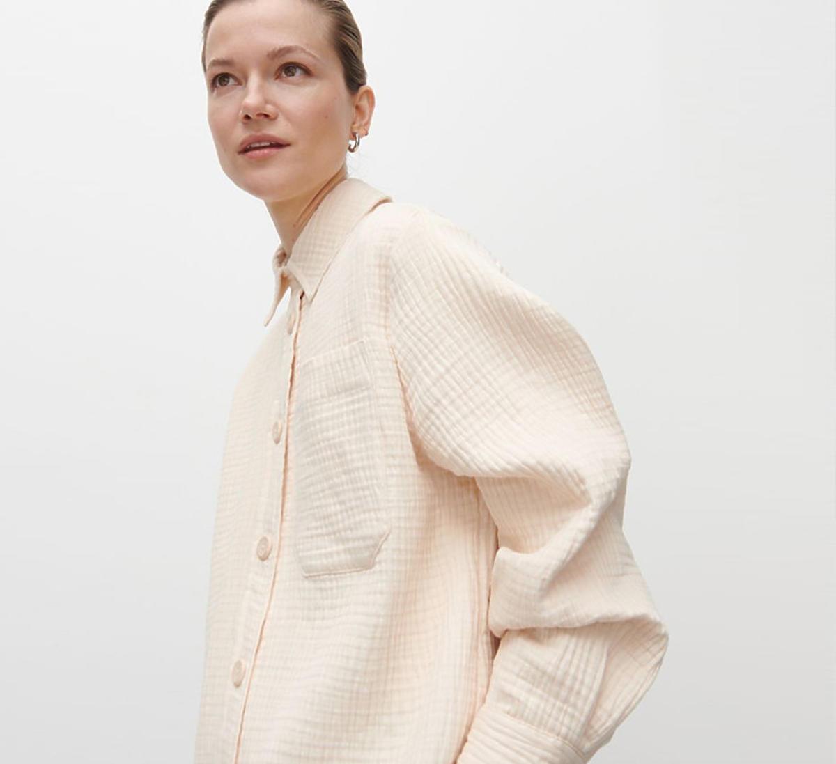 Koszulowa kurtka beżowa, Reserved, 69,99 zł