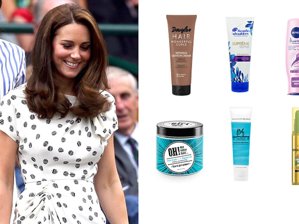 Księżna Kate, jak dba o włosy?