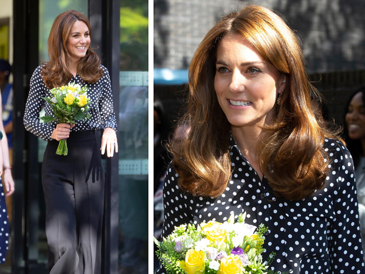 Księżna Kate w kulotach z Zary