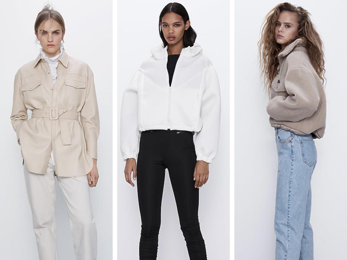 Kurtki na wiosnę 2020, Zara