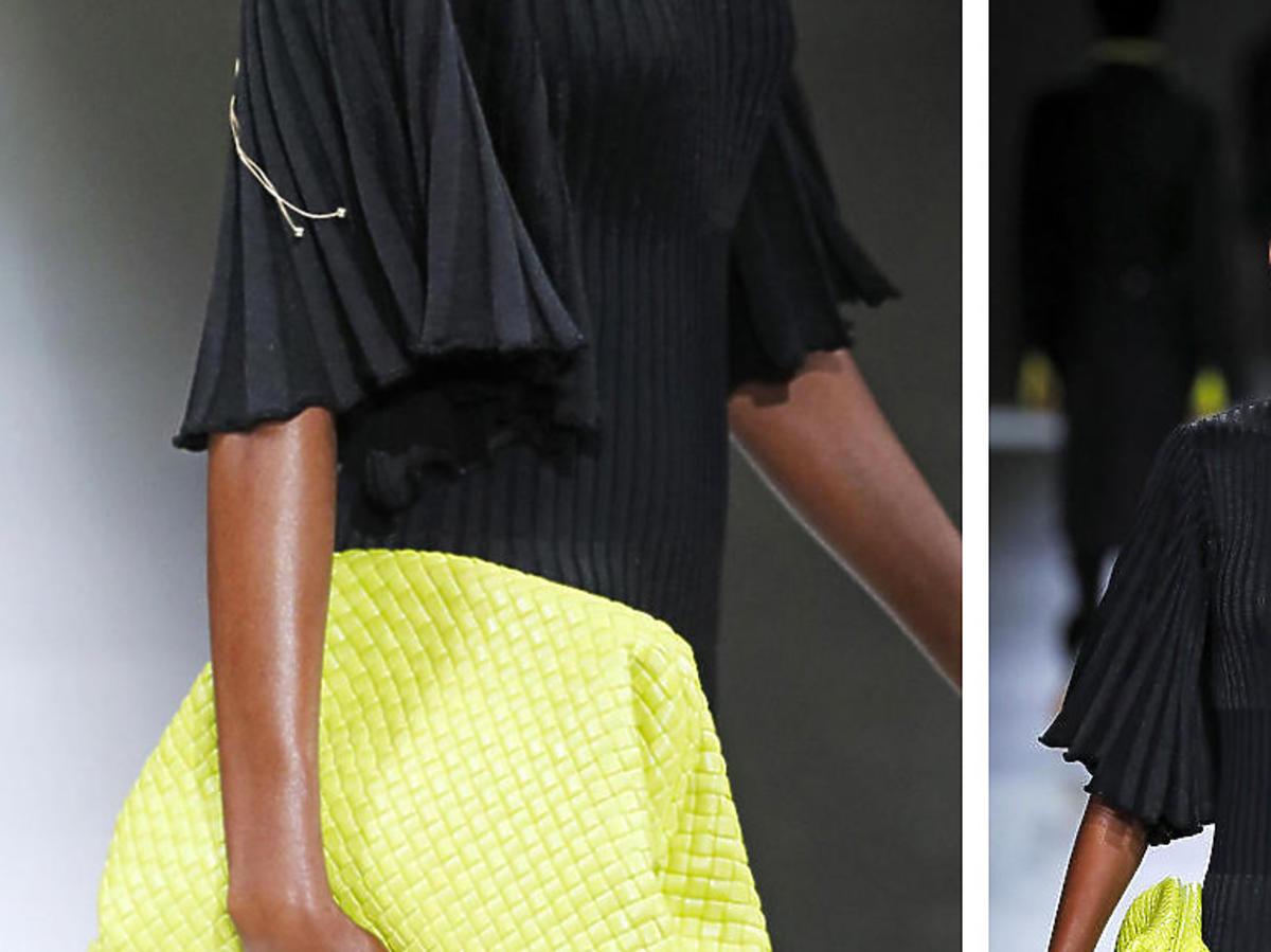 Limonkowa torebka Bottega Veneta na jesień 2020