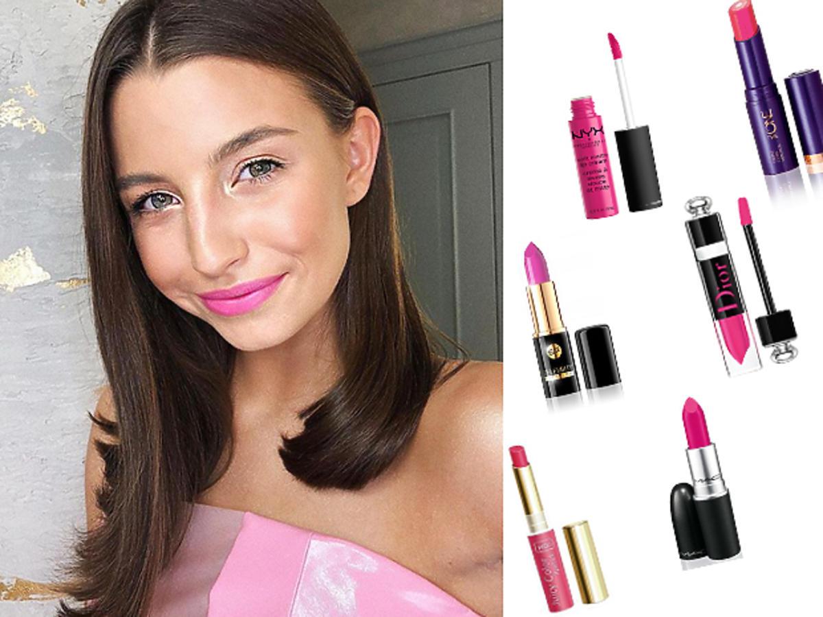 Julia Wieniawa ma różowe usta