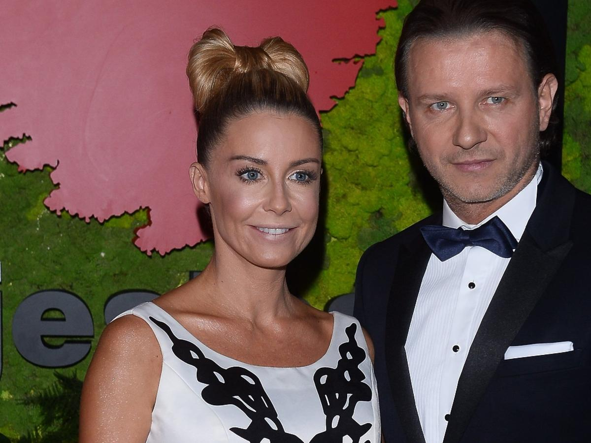 Małgorzata Rozenek i Radosław Majdan na balu fundacji TVN