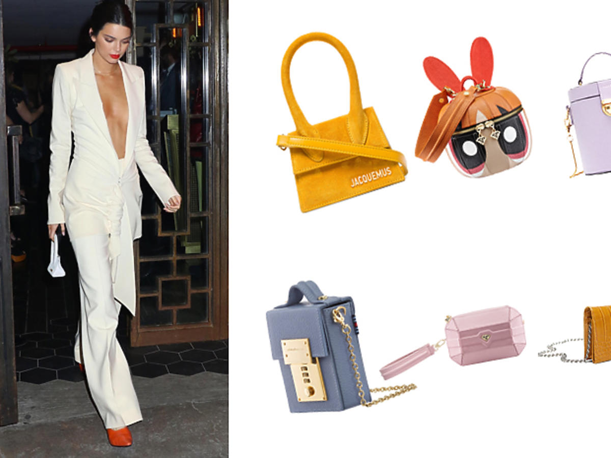 Malutkie torebki, w stylu Kendall Jenner