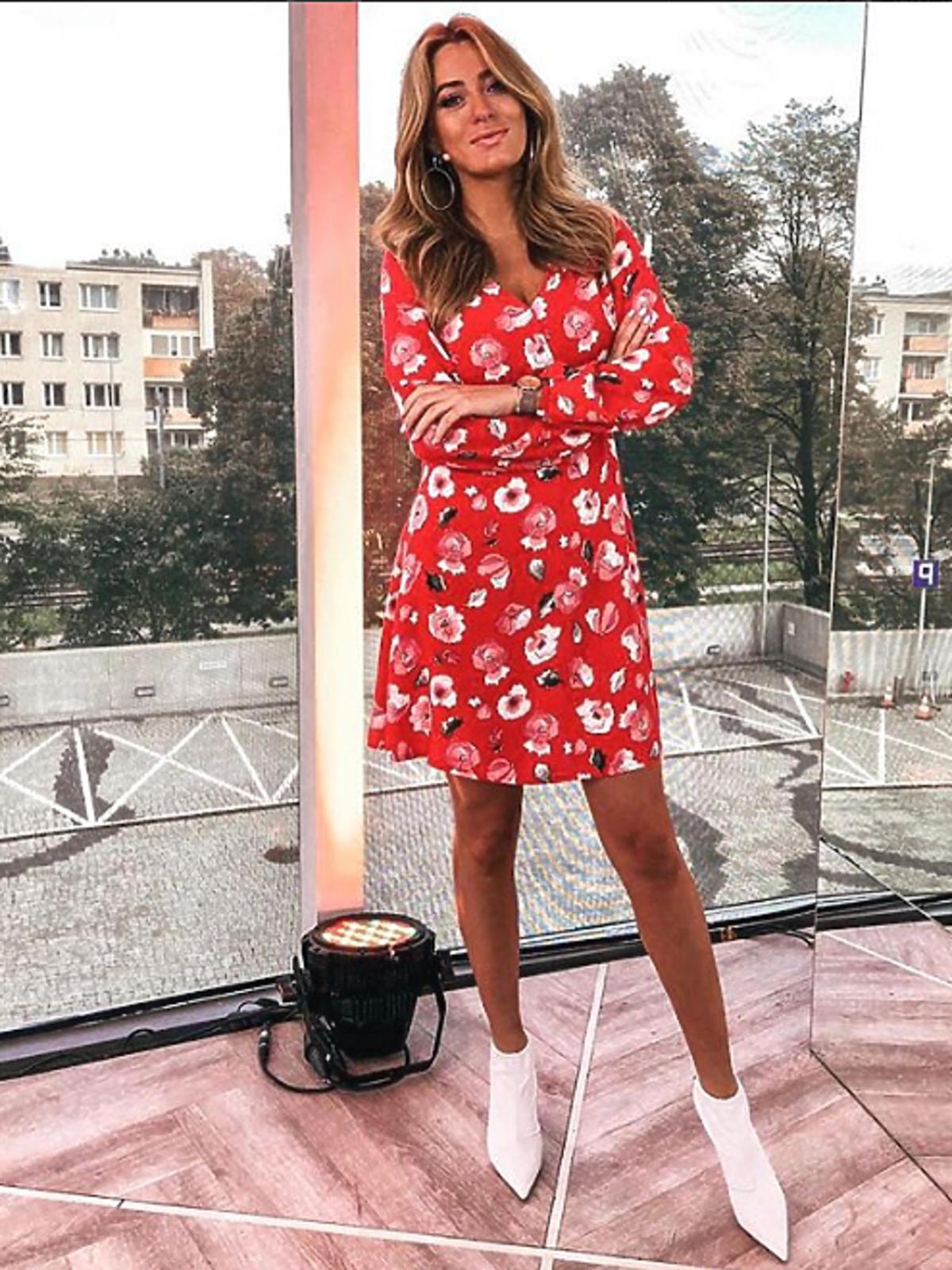 Marcelina Zawadzka w sukience Sugarfree