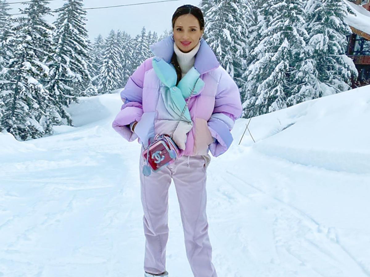 Marina w puchowej kurtce za 3 tysiące złotych