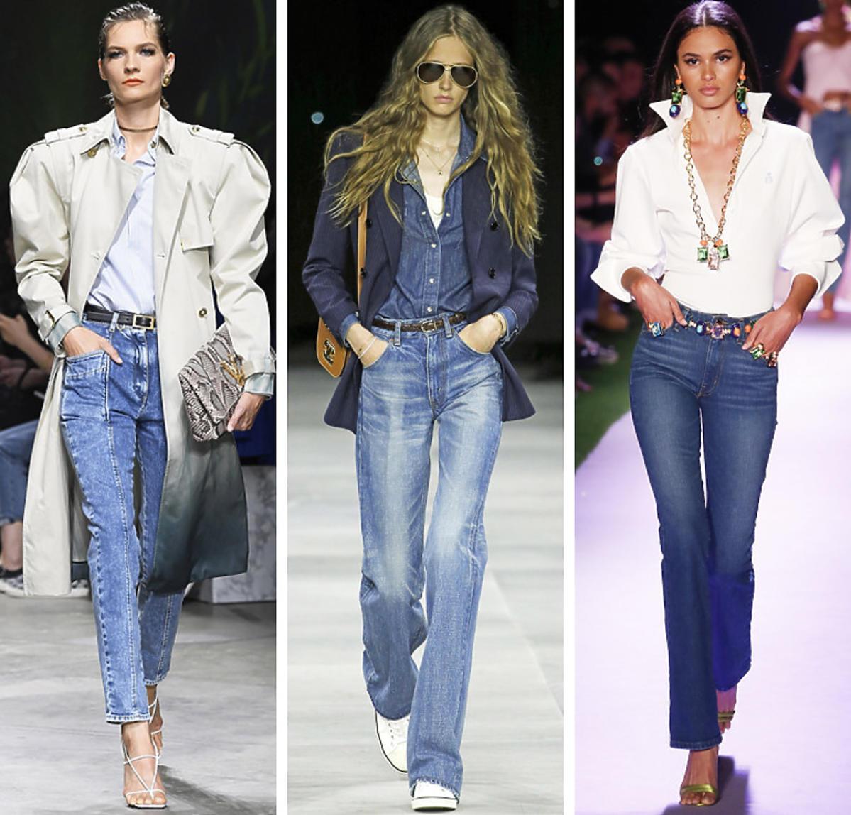 Modne jeansy wiosna 2020