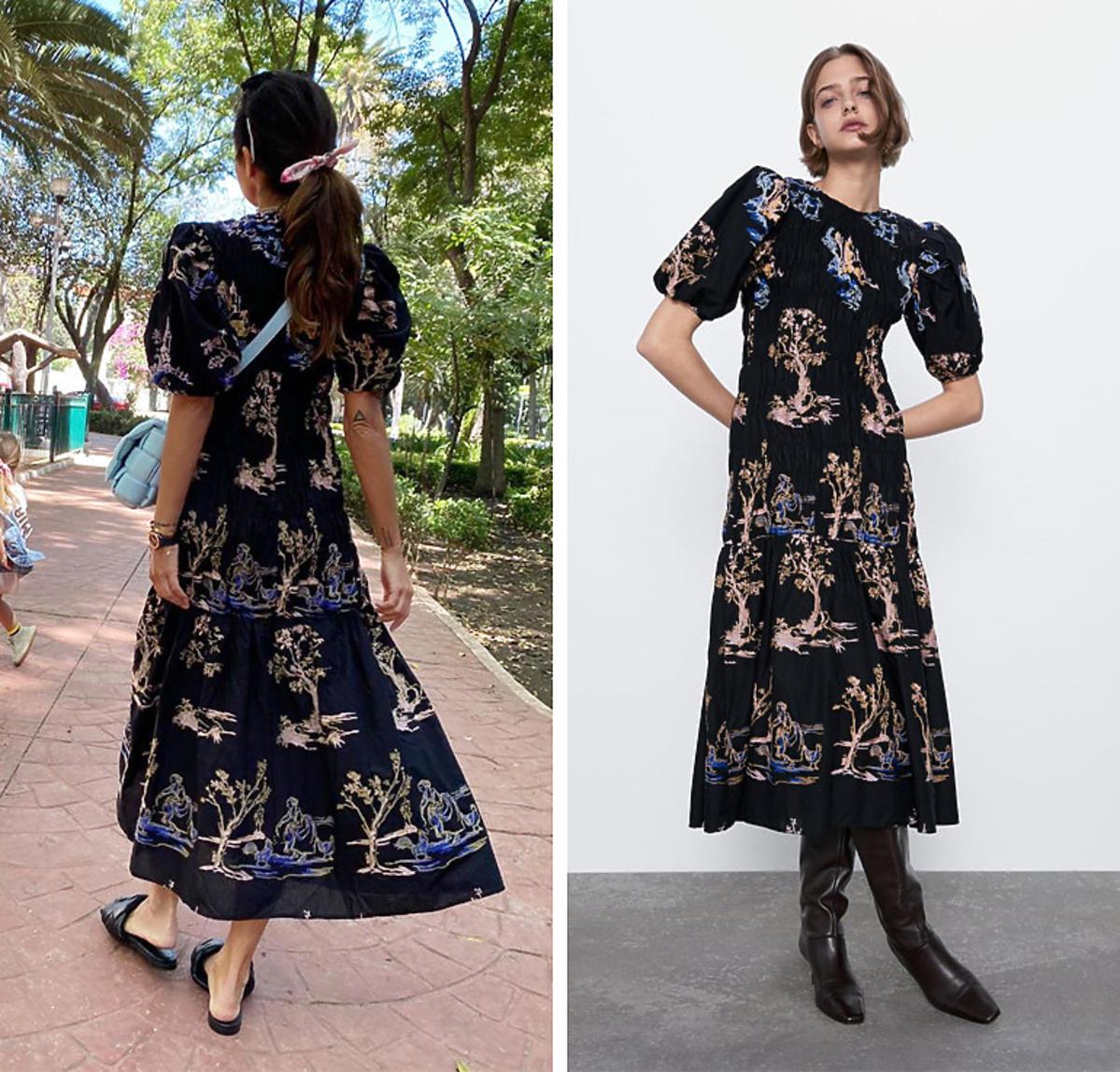 Natalia Siwiec w sukience z Zary na wiosnę 2020